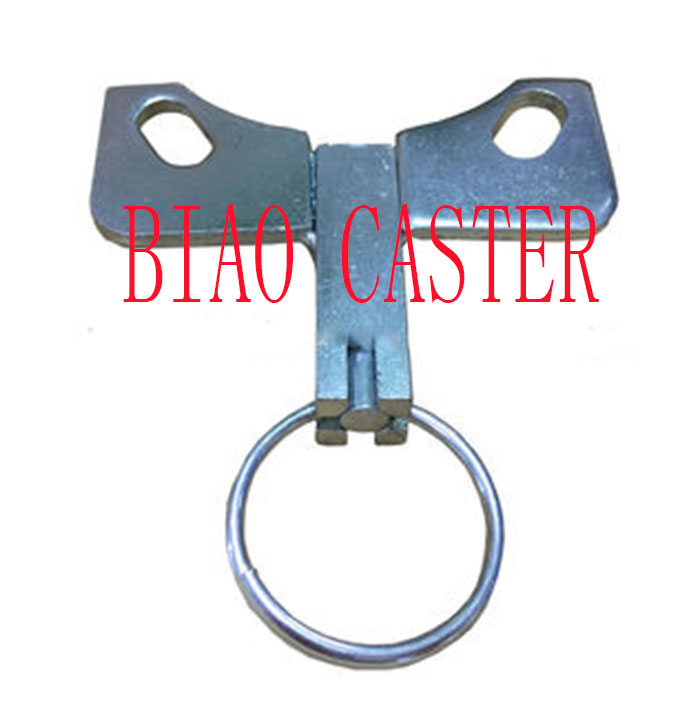 "Caster Swivel Lock Hand Operated FOR 4-1/2"" X 4"" TOP PLATE"