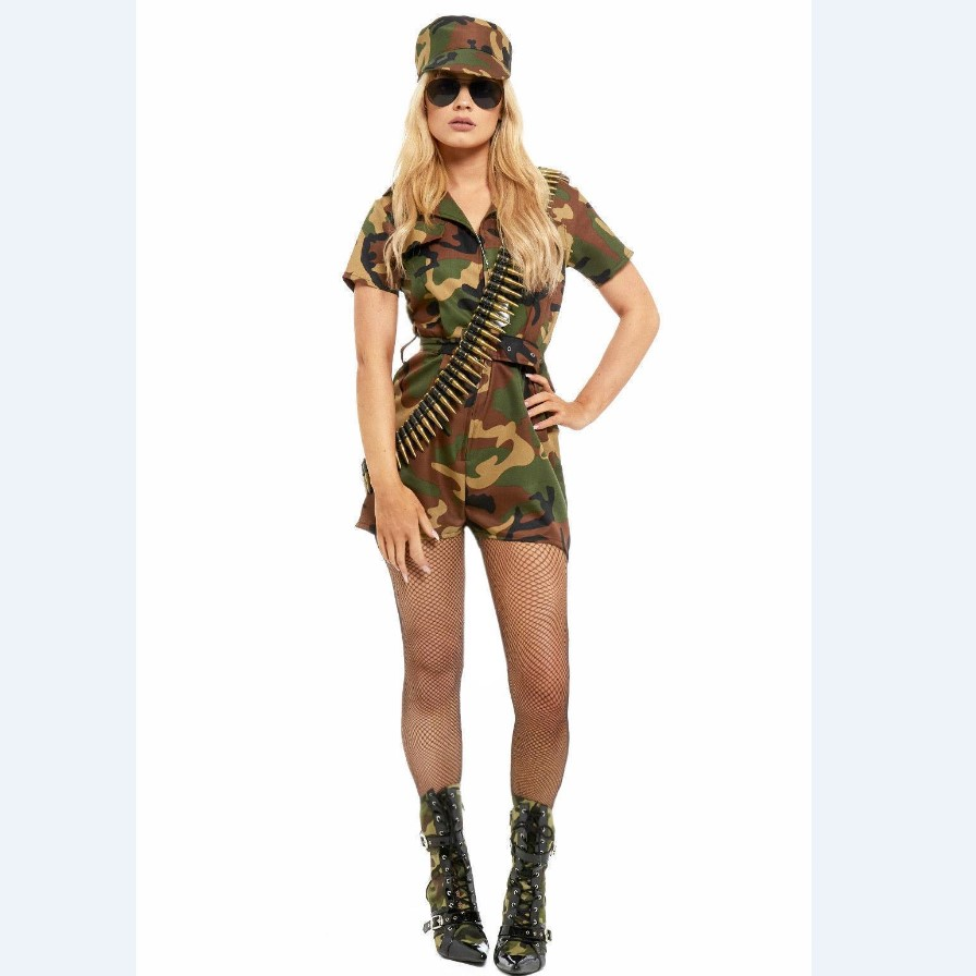 Sexy army girl costume — img 5
