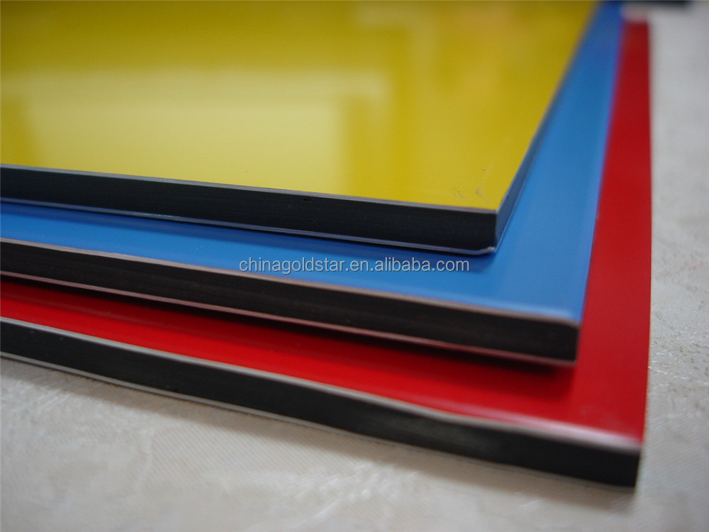 Colorful Coating Aluminum Composite Panel Acp Aluco Bond