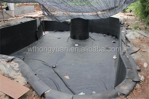 1 2mm Epdm Roofing Underlayment Epdm Swimming Pool Liner