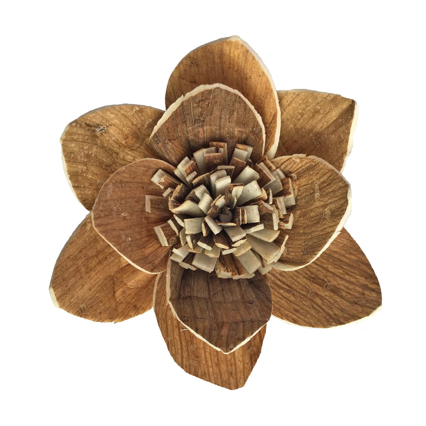 Accept Customize Handmade Sola Wood Flower