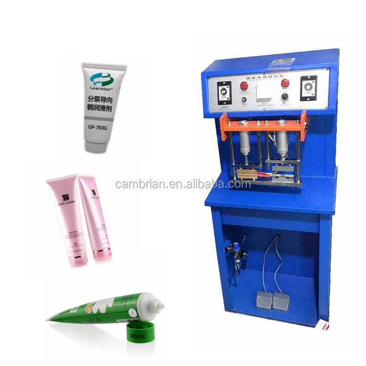 Professional aluminium tube sealing machine manual with simple operation