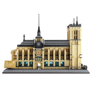 WANGE best selling product Notre Dame brick toy with good reputation