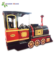 LG-KT Guangzhou Leader Game good business project electric mini trackless set train for sale