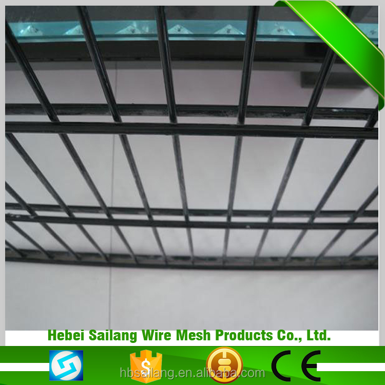 Hot new retail products ornametal durable double wire fence