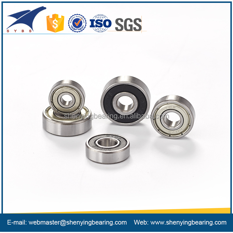 low noise deep groove ball bearing 6001 for skateboards