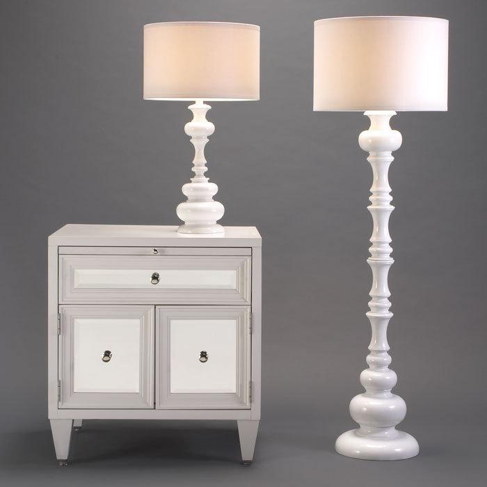 Metal Ball Base Modern Bedside Table Lamp