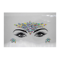 New fashion face crystal sticker Rhinestone Stickers Body Gems Tattoo Sticker