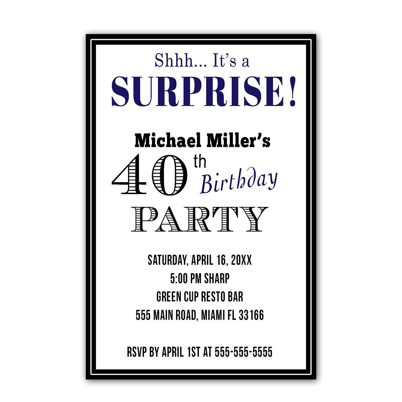 Cheap Invitations Surprise, find Invitations Surprise deals on line ...