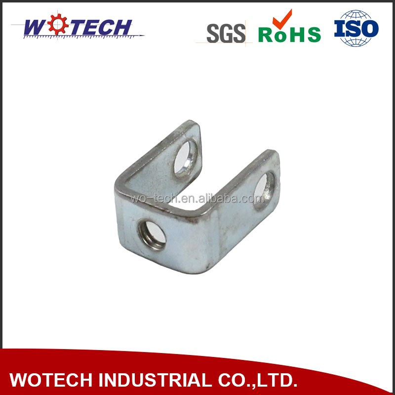 Hot sales metal sheet stamping galvanized angle bracket