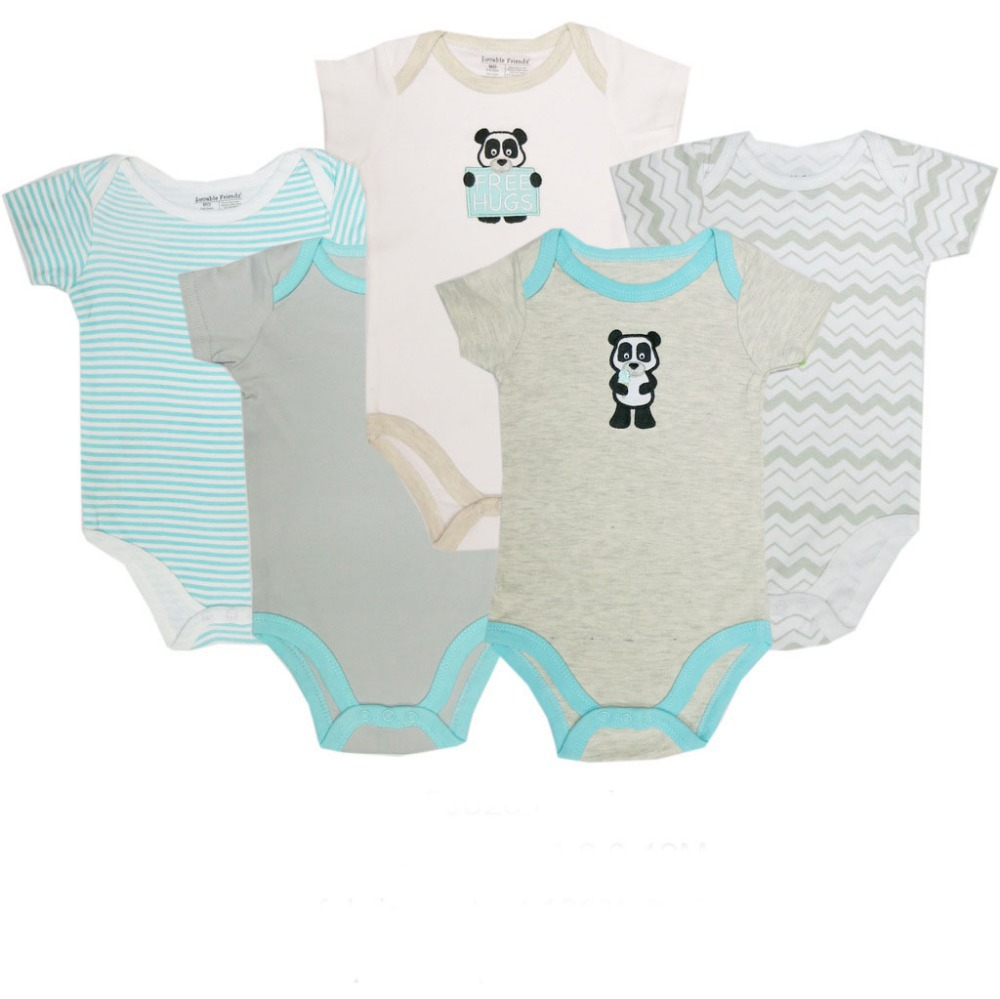 17c9223cd27f8 BODYSUIT Infant Clothes 5pcs lot Newborn Baby Carters BABY Boy Girl  Bodysuit Baby Clothing High Quality Bebek Giyim Cotton AN-10