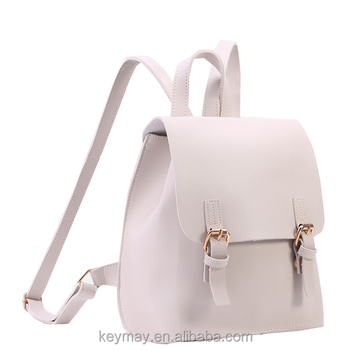 Quality Double Buckle Flap Book Bag Stylish