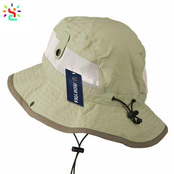 Classic Bucket Hats With Zipper Pocket Fishing Hat Men Beach Hats