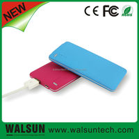 Walsun Electronic New Product Portable Mobile Power Bank 4000mAh Supply For Phone Promotional Usb Battery Charger Made In China