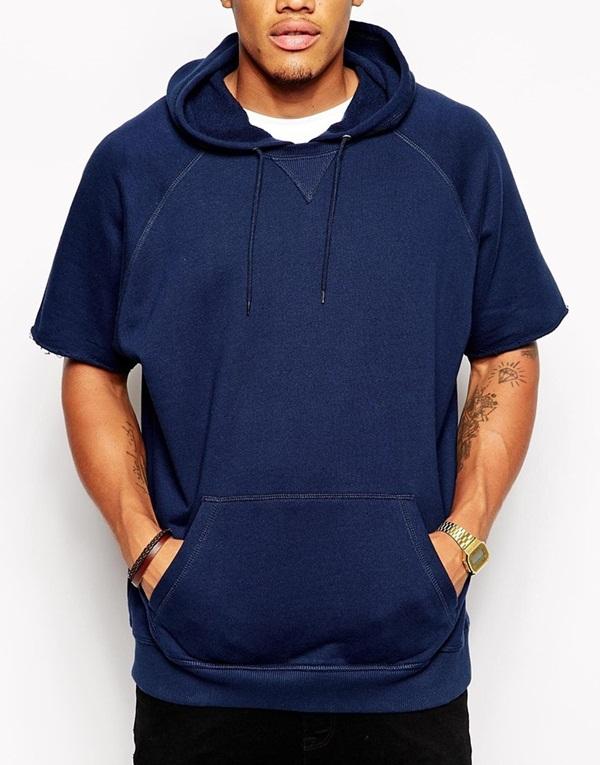 Oversized Hoodie In Short Sleeve Fitted Hoodies Oem Blank Hoodies ...