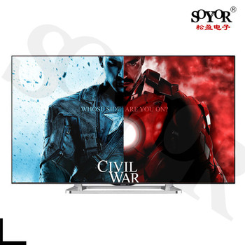 Cheap price high quality 40 50 55 60 65 inches 4k led tv smart wholesale