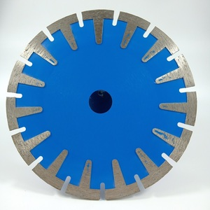 "Diameter 125 180 mm ""Fan"" edge cutting disc for micro-crystal stone (RF)"