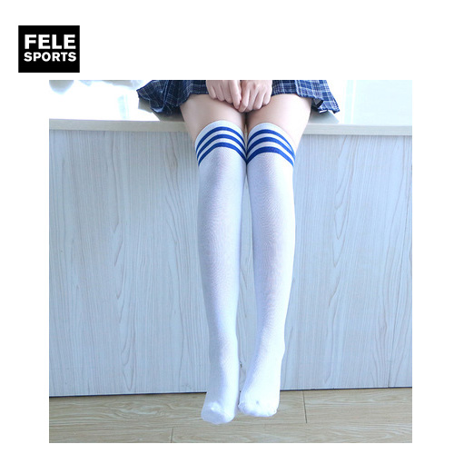 Colorful Nylon Compression High School Students Socks High Quality for Girls