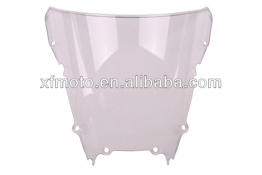 For YAMAHA YZF R6 1998-2002 Crystal Windscreen Windshield