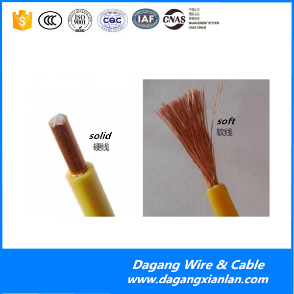 pvc sheathed house wiring copper electric wire cable