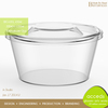 Dishwasher Safe Heat Resistant Glass Food Container With Lid