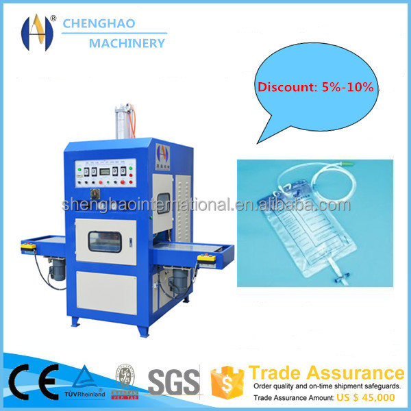 10kw medical bag high freuqency welding and cutting machine, CE approved
