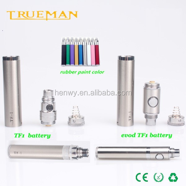 High quality replacement battery vacuum coating ego wholesale,TF1 14500 battery variable voltage battery ego vv