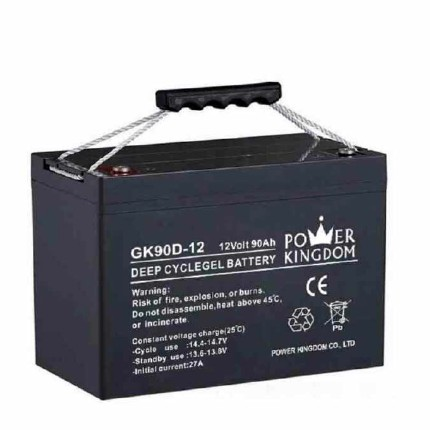 Power Kingdom long standby life rechargeable sealed lead acid battery design solor system-3