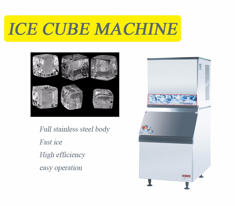 Industrial ice maker machine/ Commercial Restaurant Ice Maker Big Capacity Cube Ice Machine for sale/Good Quality Ice Maker