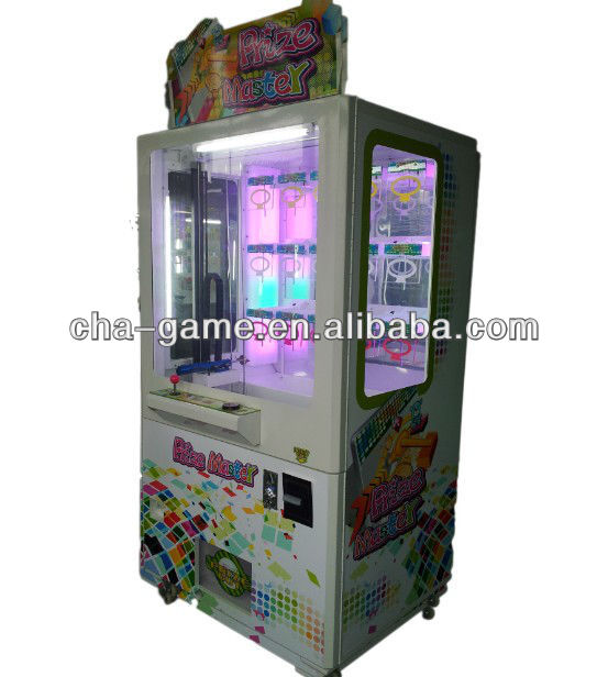 Newest! Key Master Prize Vending Machine coin operated key master
