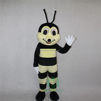 High Quality Men Carnival Cartoon Character Animal bee costume adult Mascot Costume Lyjenny