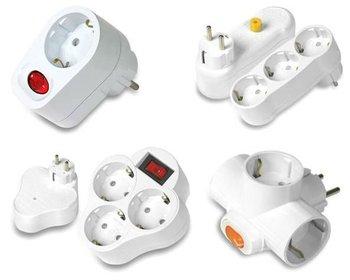 Subony 13 Ways Sockets Switchable Non Switchable Muti Tap