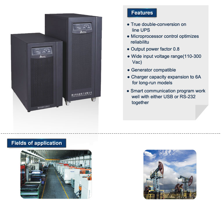 Best Selling Supply Online High Frequency 6kva Luminous UPS