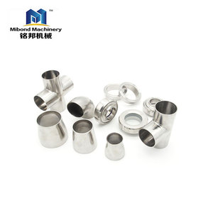 stainless steel 304/316 sanitary pipe fitting elbow/3 way tee/cross/reducer price