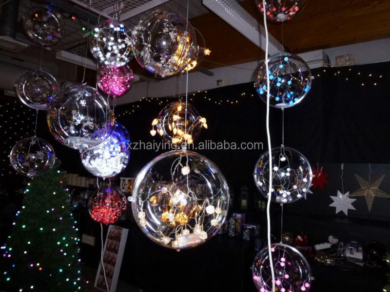 70 Mm Clear Plastic Ball Ornaments Bulk - Buy 70 Mm Clear Plastic ...