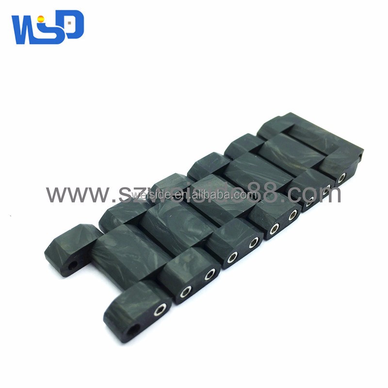 WSD-305 forged Carbon fiber watch strap parts oem watch band manufacture
