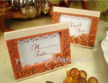 2013 New style! Fall design placecard frame/photos frame for wedding favor and gifts