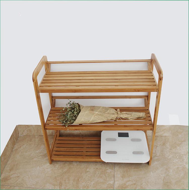 3 Tier Bamboo Shoe Shelf Shoe Rack