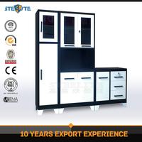 New kitchen furniture design customized Steel kitchen pantry cupboard / kitchen system