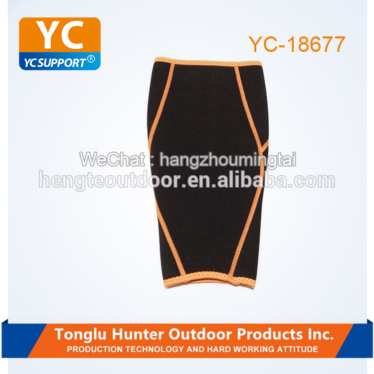 Customized slimming support neoprene waterproof compression sleeve calf