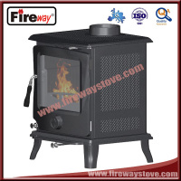 Tiny/heat powered/steel plate wood fire stove