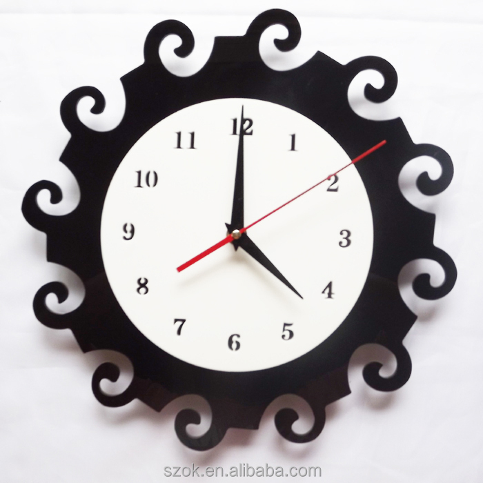 Funny Design Acrylic Handmade Wall Clocks Buy Handmade Wall Clocks