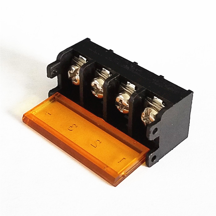Terminal Blocks 5 × Barrier Terminal Block 25A 600V 6 Pole Position