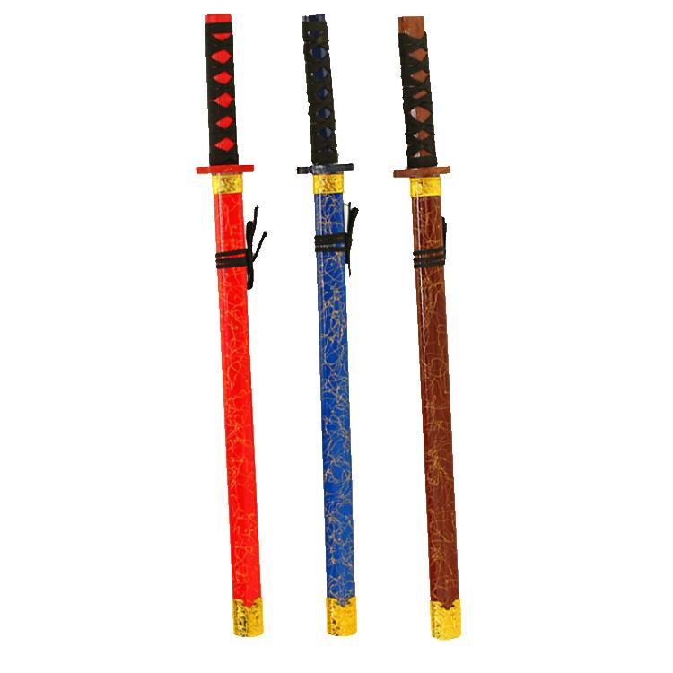 Ultimo disegno di alta qualità su ordinazione di alta qualità giapponese katana giocattolo samurai spada per la vendita