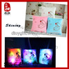 2014 new product soft toy shiny pillow plush led pillow