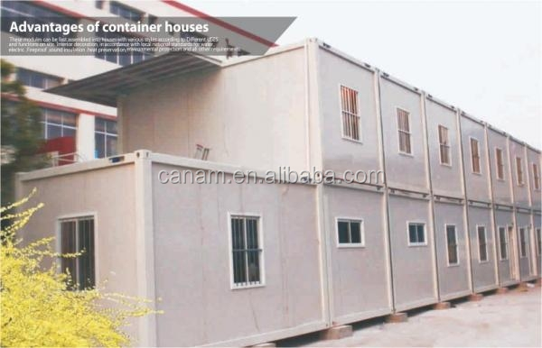 Container frame cheap house container dormitory