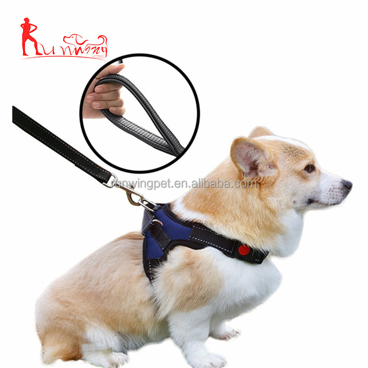 Adjustable Pet Harness Leash Set for Small Medium Large Dogs Reflective Durable Harness