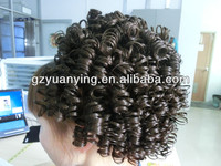 Good looking big afro hair buns for decoration