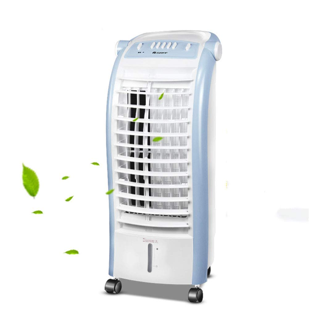 LIUSHIJITUAN Household Cold Fan, Evaporative Cooler Lightweight Air Single-Cold Air Conditioner Fan Student Office-A 75x31cm(30x12inch)