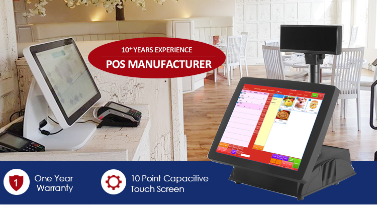 Touch Screen Pos System Preloaded Windows 7 Operating System